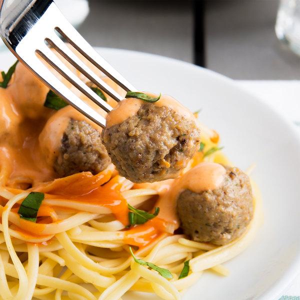 Casa Di Bertacchi 0.5 oz. Italian Style Fully Cooked Beef Meatballs 5 lb. Bag - 2/Case