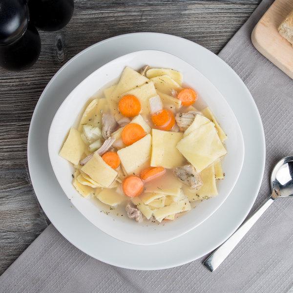 Little Barn Noodles 5 lb. Homemade Pot Pie Squares - 2/Case