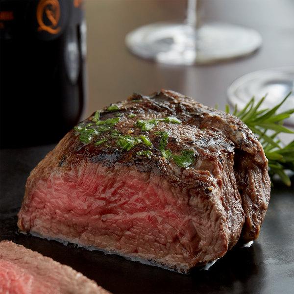 Warrington Farms 6 oz. Baseball Cut Sirloin Steak - 32/Case