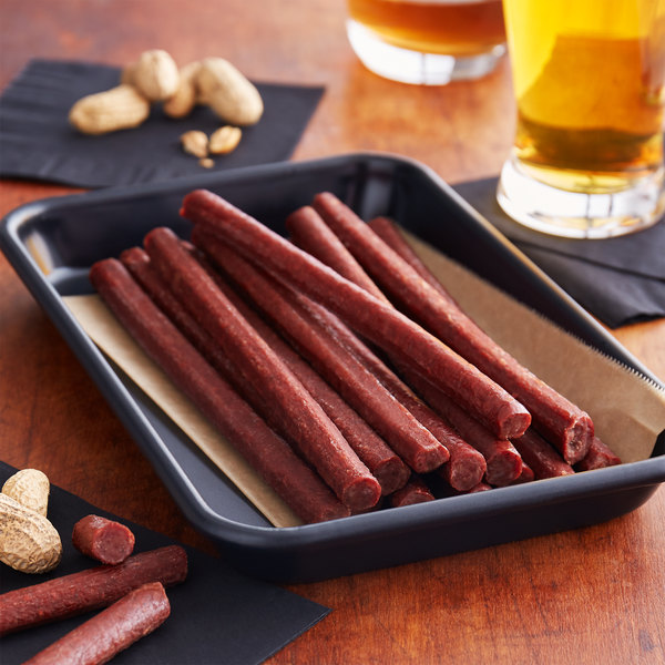 Lancaster County Farms 2.5 lb. Amish Stogies Meat Snack Sticks - 4/Case Main Image 2