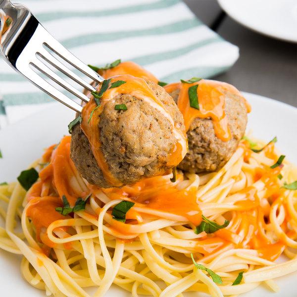 Casa Di Bertacchi 2 oz. Italian Style Fully Cooked Beef Meatballs 5 lb. Bag - 2/Case Main Image 4