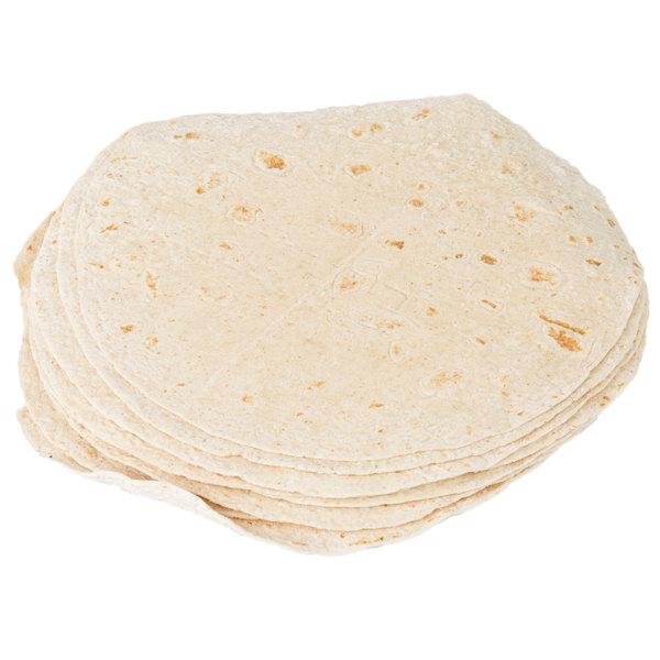 Tyson Mexican Original 12-Count 12 inch Honey Wheat Flour Tortilla Wraps - 6/Case