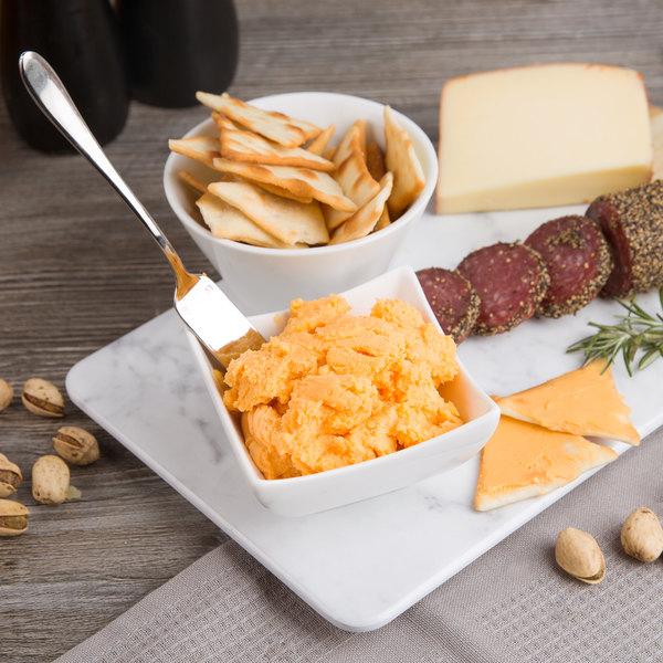 Kaukauna 10 lb. Tub Sharp Yellow Cheddar Cheese Spread
