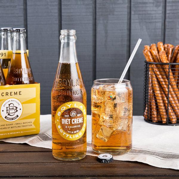 Boylan Bottling Co. 12 oz. Diet Creme Soda - 24/Case