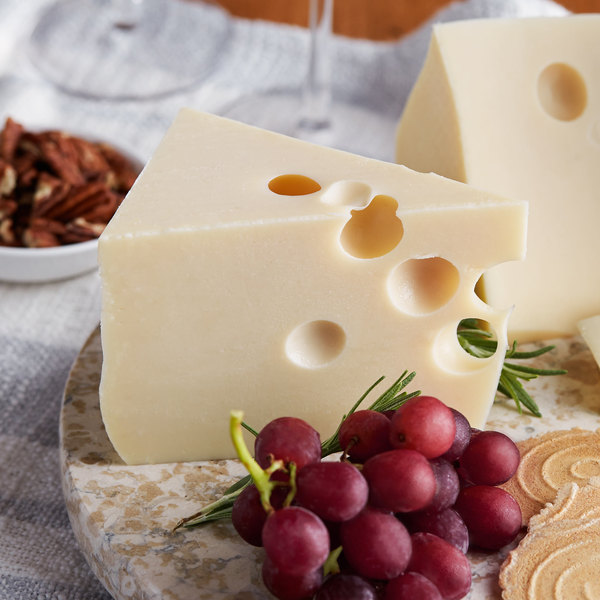 Old Country 40 lb. Domestic Baby Swiss Cheese Main Image 2