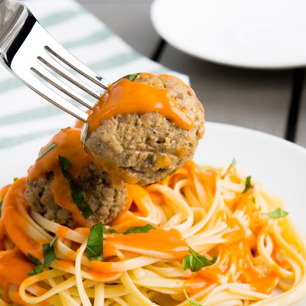 Casa Di Bertacchi 1.5 oz. Italian Style Fully Cooked Beef Meatballs 5 lb. Bag - 2/Case Main Image 4