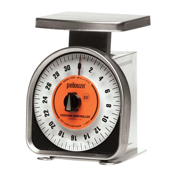 Rubbermaid FGY32R Pelouze 32 oz. Mechanical Portion Control Scale
