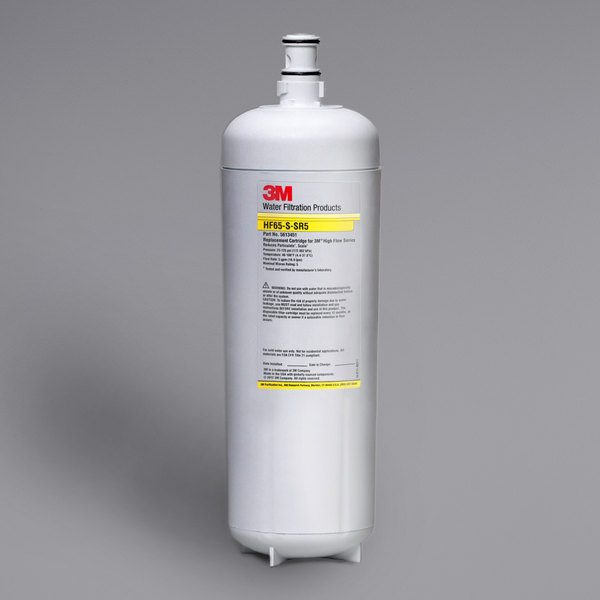 3M Water Filtration Products 5613451 High Flow Series Replacement Water Filter Cartridge - 3 Micron and 5 GPM Main Image 1