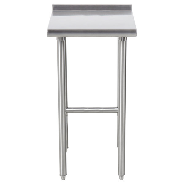 """Advance Tabco TFMS-123 12"""" x 36"""" Equipment Filler Table"""