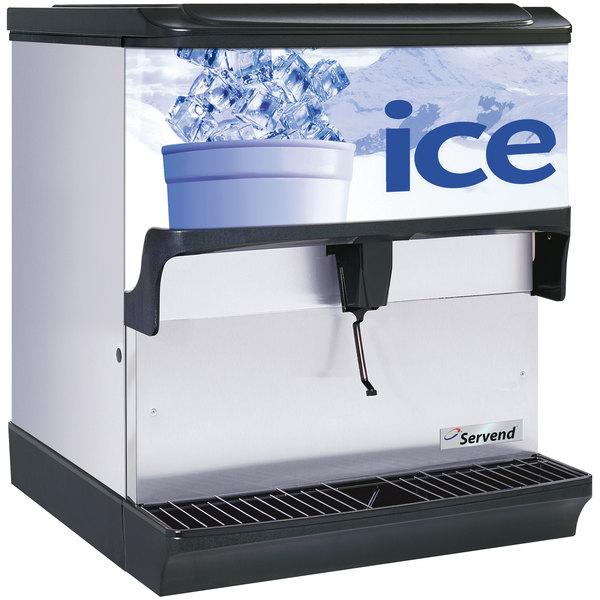 Servend 2705138 S200 Countertop Ice Dispenser - 200 lb. Ice Storage Capacity Main Image 1
