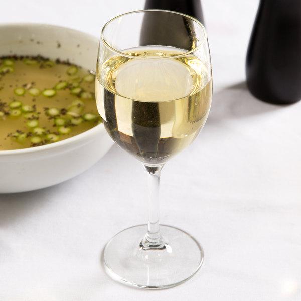 Libbey 8565SR Bristol Valley 8.5 oz. Chalice Wine Glass - 24/Case