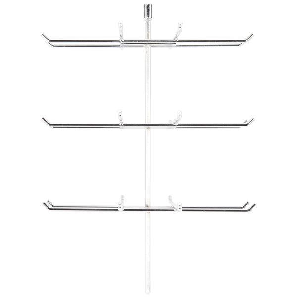 APW Wyott 21721546 Pretzel Rack for HDC-4 and HDC-4P Heated Display Cabinets - 36 Pretzels