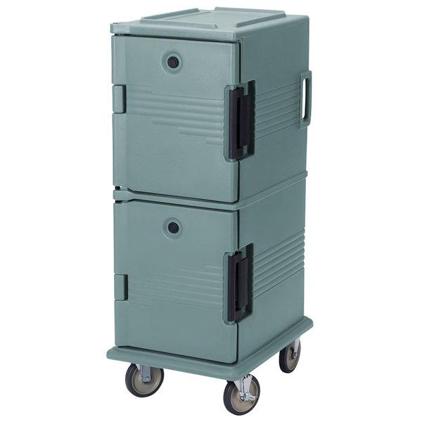 Cambro UPC800SP401 Slate Blue Camcart Ultra Pan Carrier - Front Load Tamper Resistant