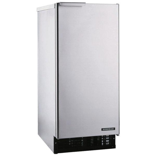 "Hoshizaki AM-50BAE 14 7/8"" Air Cooled Undercounter Top Hat Cube Ice Machine - 55 lb."
