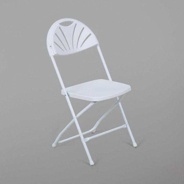 Wondrous Lancaster Table Seating White Plastic Fan Back Folding Chair Ibusinesslaw Wood Chair Design Ideas Ibusinesslaworg