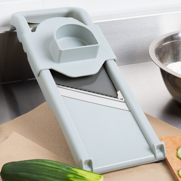 Matfer Bourgeat 215040 Composite Mandoline with 3 Interchangeable Blades Main Image 9