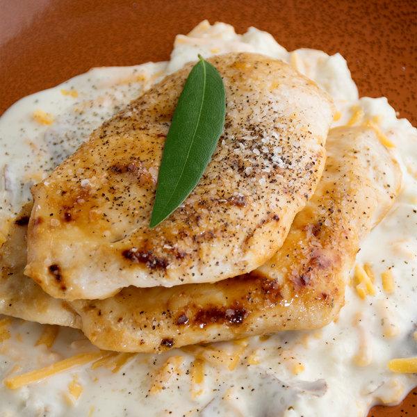 OK Foods 6 oz. Boneless Skinless Uncooked Chicken Breast - 15 lb.