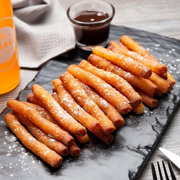 """J & J Snack Foods 4"""" Funnel Cake Fries - 600/Case Main Image 4"""