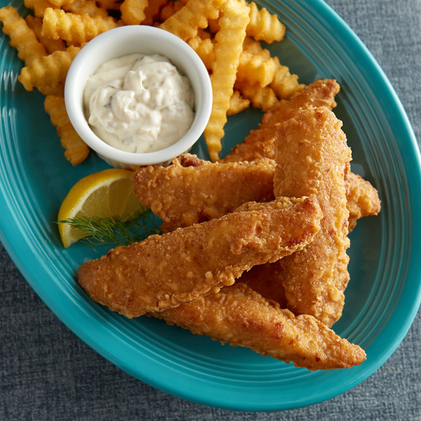 Icelandic Seafood 1-2 oz. Wild Caught Guinness™ Beer Battered Cod Tenders - 10 lb.