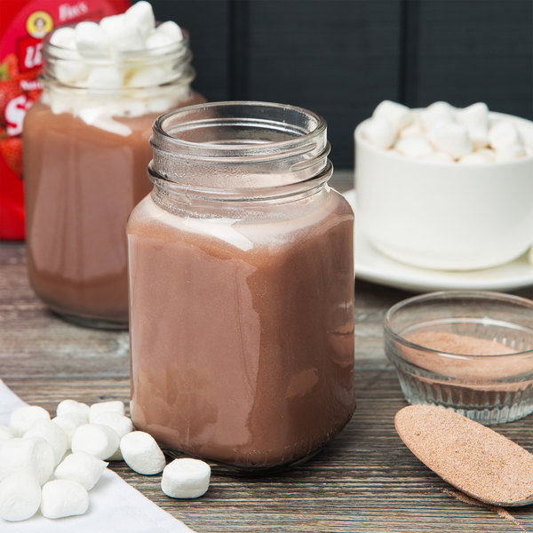 A Touch of Dutch 5 lb. Bag of Premium Hot Chocolate Mix - 2/Case Main Image 3