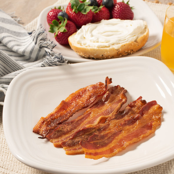 Hatfield 15 lb. Case Layout 18-22 Sliced Bacon Main Image 4