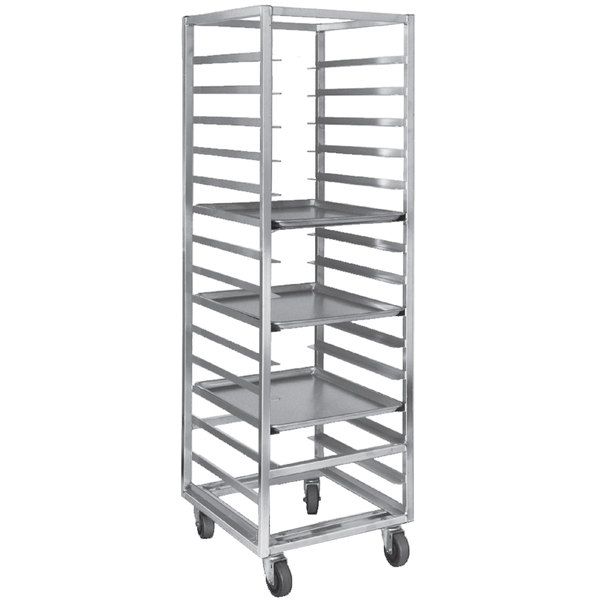 Channel 400A-OR End Load Aluminum Bun Pan Oven Rack - 30 Pan Main Image 1