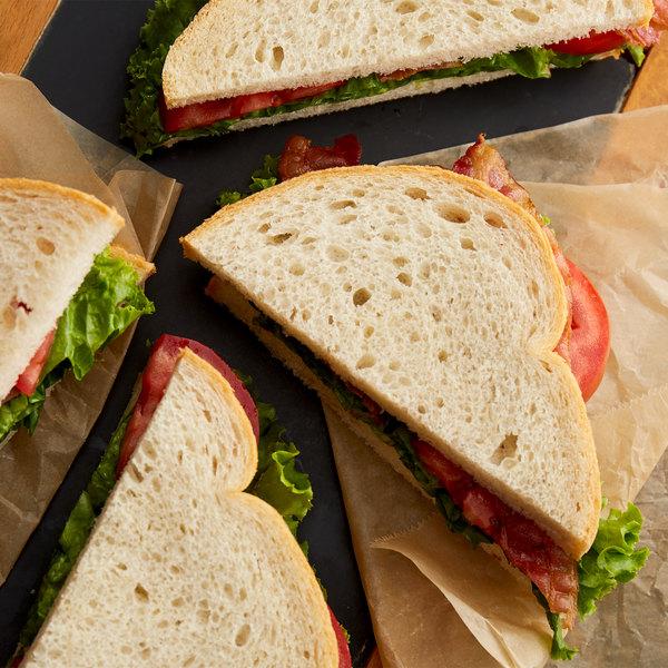Bakery de France 32 oz. Sliced Sourdough Bread Loaf - 6/Case Main Image 2