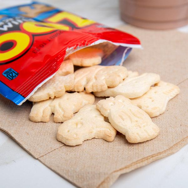 Austin 1 oz. Bag of Zoo Animal Crackers - 100/Case Main Image 4