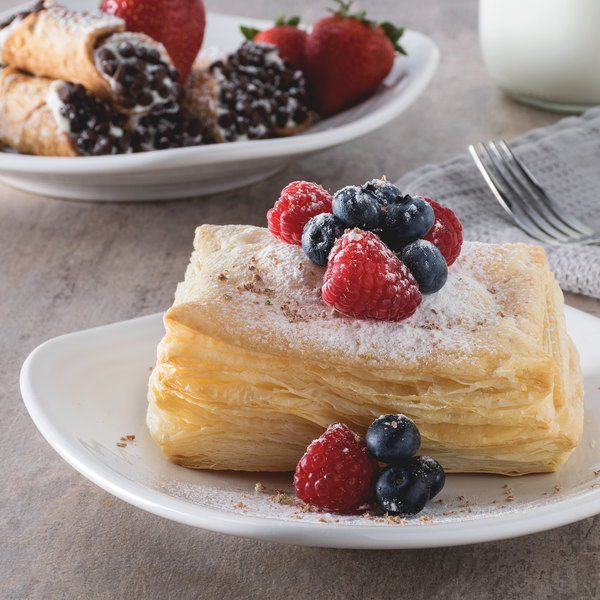 """Pennant French Puff Pastry Dough 10"""" x 15"""" Sheet - 20/Case"""