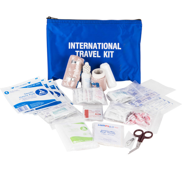 Medique 77501 132 Piece International Healthy Traveler First Aid Kit