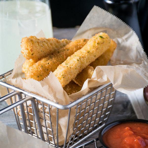 """Colony Lane 2 lb. Breaded 3"""" Mozzarella Cheese Sticks - 6/Case"""