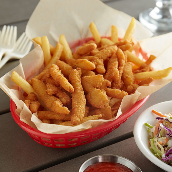 Misty Harbour 4 oz. Bag Wild Caught Breaded Fried Clam Strips - 24/Case Main Image 2