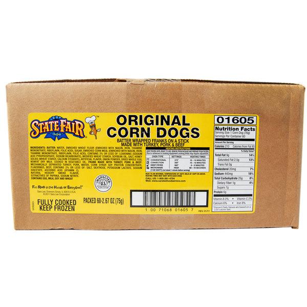 State Fair® Corn Dogs   2.6 oz