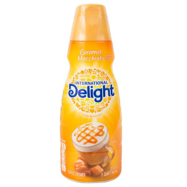 International Delight 32 oz. Caramel Macchiato Coffee ...