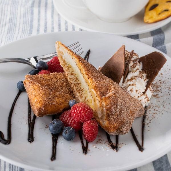"Sweet Street Desserts 6"" Original Cheesecake Xangos - 48/Case"