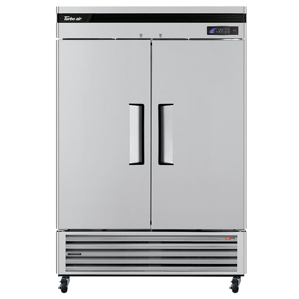 "Turbo Air TSF-49SD Super Deluxe 54"" Solid Door Reach In Freezer"
