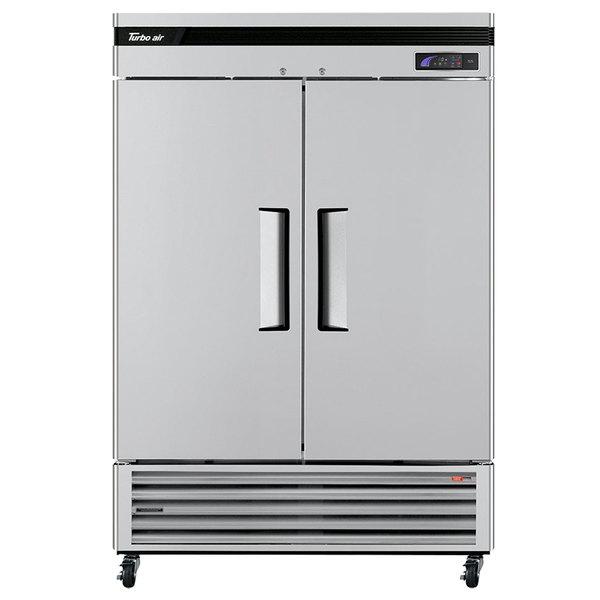 "Turbo Air TSF-49SD Super Deluxe 54"" Solid Door Reach In Freezer"