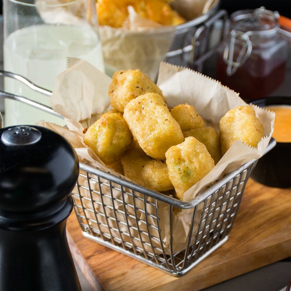 McCain 2.5 lb. Bag Battered Broccoli and Cheese Bites - 6/Case