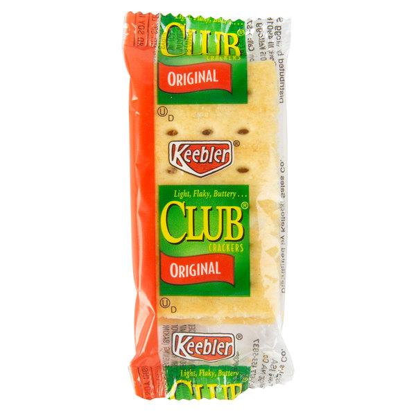 Keebler 2 Pack of Original Club Crackers  - 300/Case