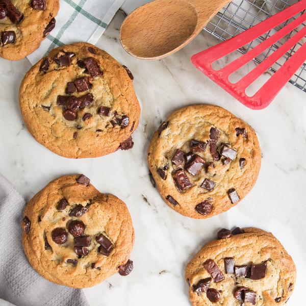 David's Cookies 4.5 oz. Preformed Triple Chocolate Cookie Dough - 45/Case Main Image 3