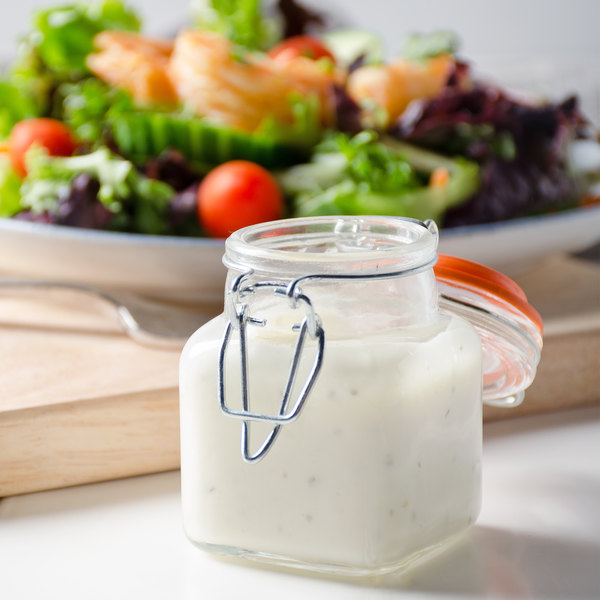 Ken's Foods 1 Gallon Buttermilk Ranch Dressing and Dip - 4/Case Main Image 2