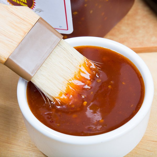 Sweet Baby Ray's 1 Gallon Sweet Red Chili Pepper Wing Sauce and Glaze - 4/Case Main Image 3