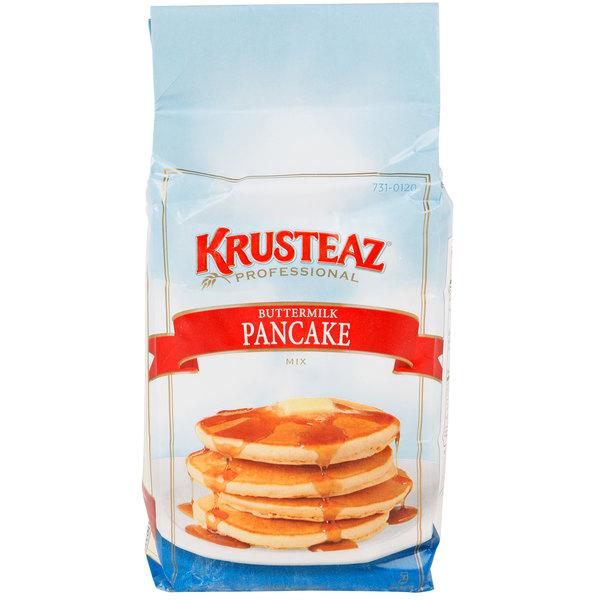 Krusteaz 5 lb. Bag Professional Buttermilk Pancake Mix - 6/Case