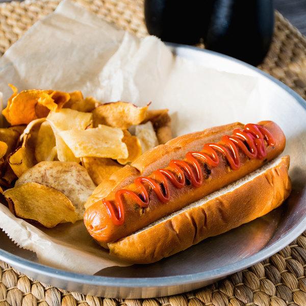 King's Hawaiian 8-Pack Original Hawaiian Sweet Hot Dog Bun - 12/Case Main Image 4