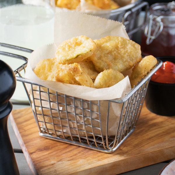 Cavendish 2 lb. Bag Tempura Battered Pickle Chips - 4/Case Main Image 5