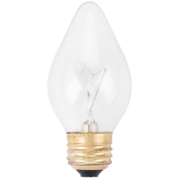 """Hatco 02-30-043 Equivalent 60 Watt Shatterproof Light Bulb - 120V - 4"""" x 2"""" Main Image 1"""
