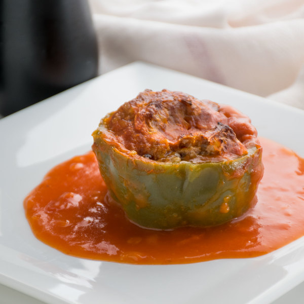 Stouffer's 83 oz. Pan Stuffed Green Peppers with Beef and Tomato Sauce - 4/Case Main Image 7