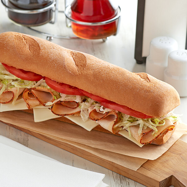 """Udi's 12"""" Individually Wrapped Gluten-Free Hoagie Roll - 12/Case Main Image 2"""