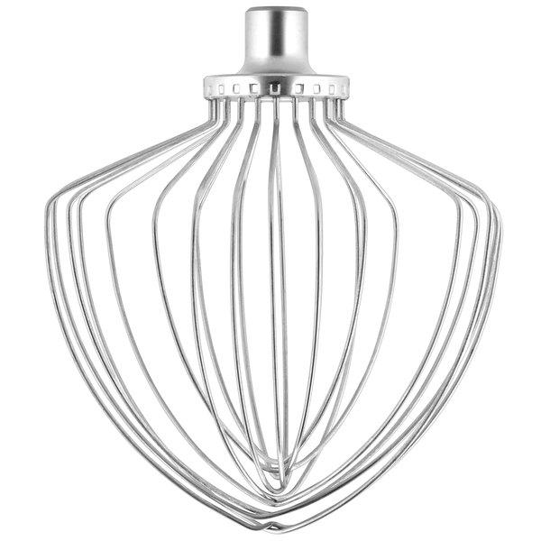Kitchenaid Ksmc7qew Stainless Steel Nsf Elliptical Wire Whip For