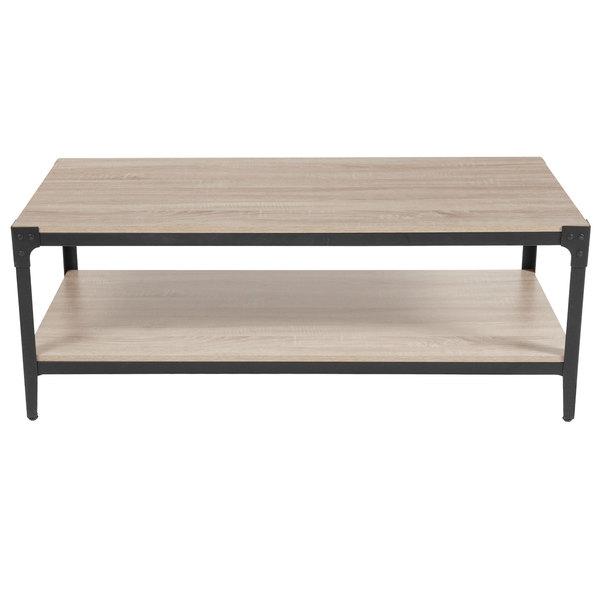 Flash Furniture Nan Jh 17100ct Gg Northvale 47 X 23 1 2 17 Oak Level Coffee Table
